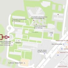Ubicación de la oficina de la Coordinación de Ingeniería Química